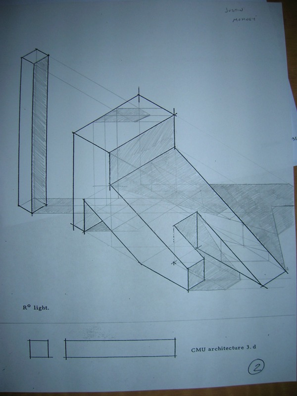 Plan Elevation Isometric : Justin j mohney architectural drawing ii